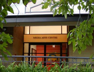 Media Arts Centre Entrance